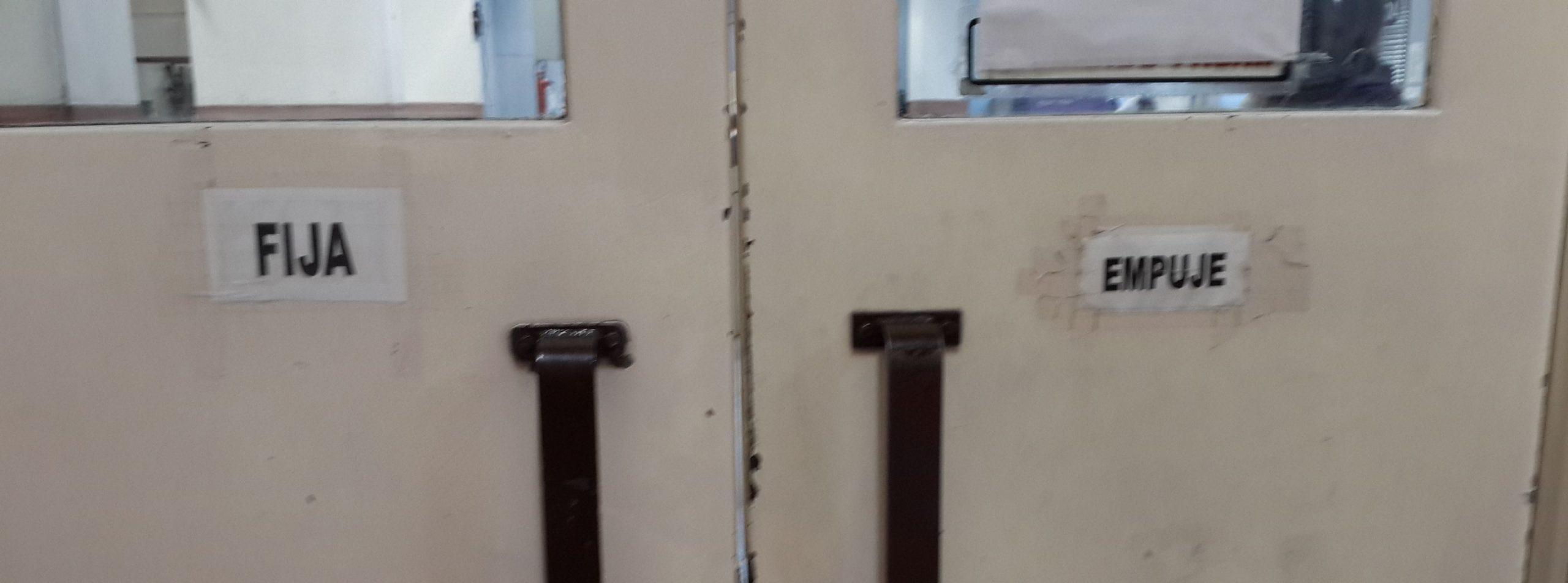 Puertas poco usables