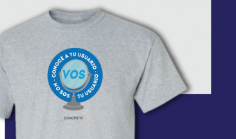 Camiseta Conoce a tu usuario: VOS no sos tu usuario