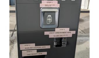 error de usabilidad en maquina de pago de estacionamiento