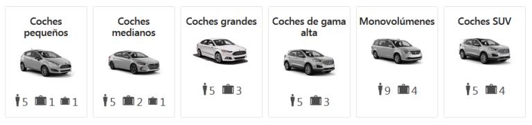 filtros con ejemplos que brindan información en Booking