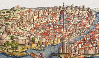 Grabado de la ciudad de Florencia en el siglo XV