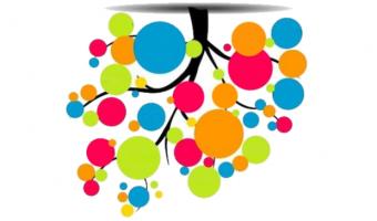 ilustracion de arbol-grafo invertido