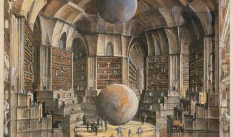 la bibiliteca de babel de Jorge Luis Borges