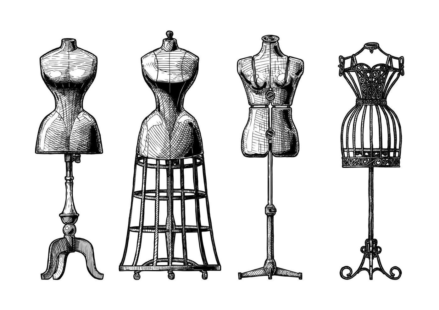 Maniquies de moda