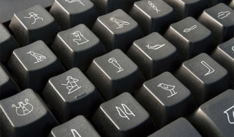 teclado para jeroglíficos